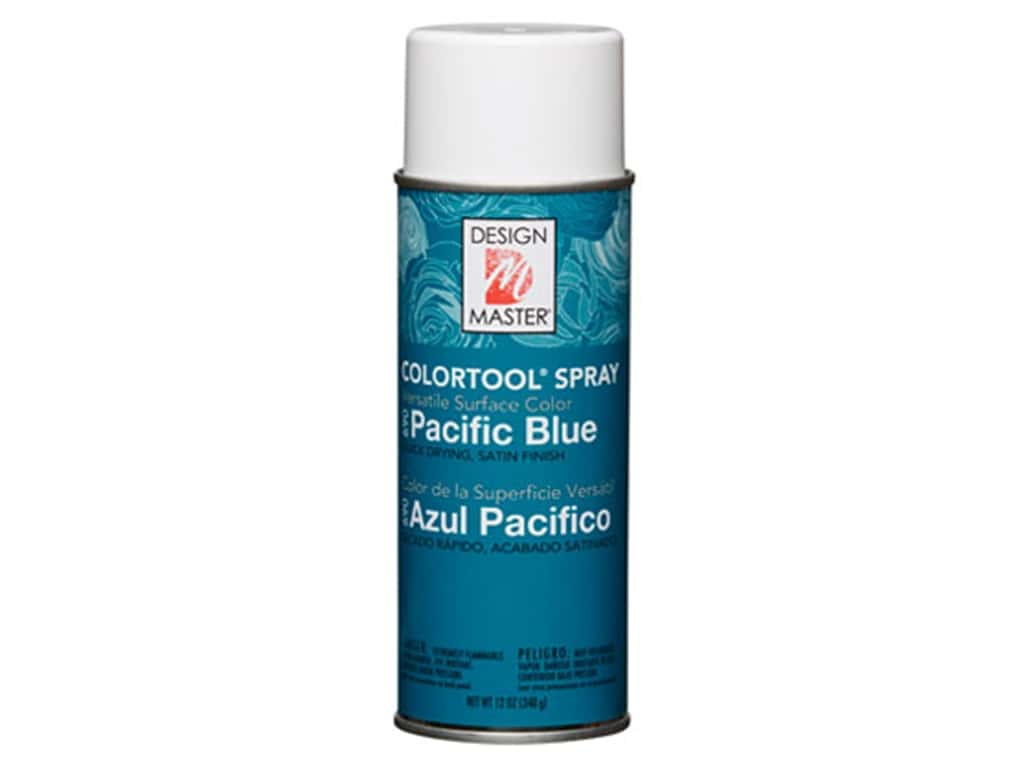 Design Master Colortool Spray Paint 12 oz. #690 Pacific Blue