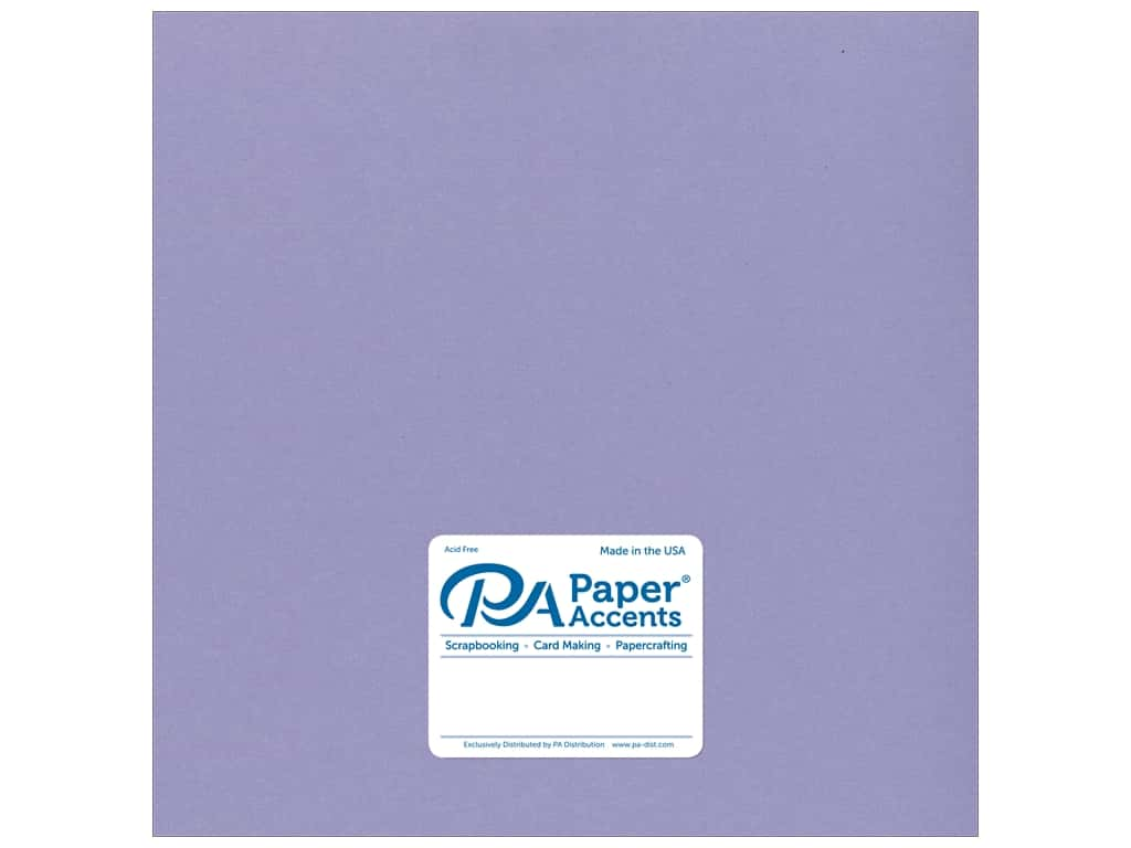 Paper Accents Cardstock 12 x 12 in. #18091 Smooth Bellflower (25 sheets)