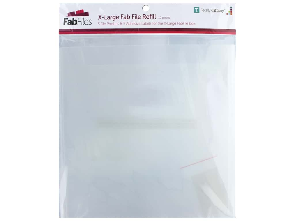 Totally Tiffany Fab File Refill Pocket Extra Large 12 in. x 12 in.