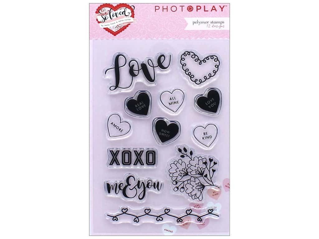 Photo Play Collection So Loved Stamp Set