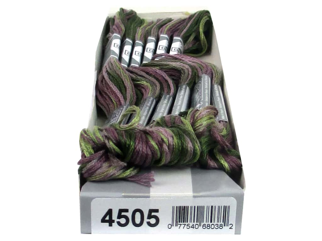 DMC Coloris Embroidery Floss Heather (6 skeins)