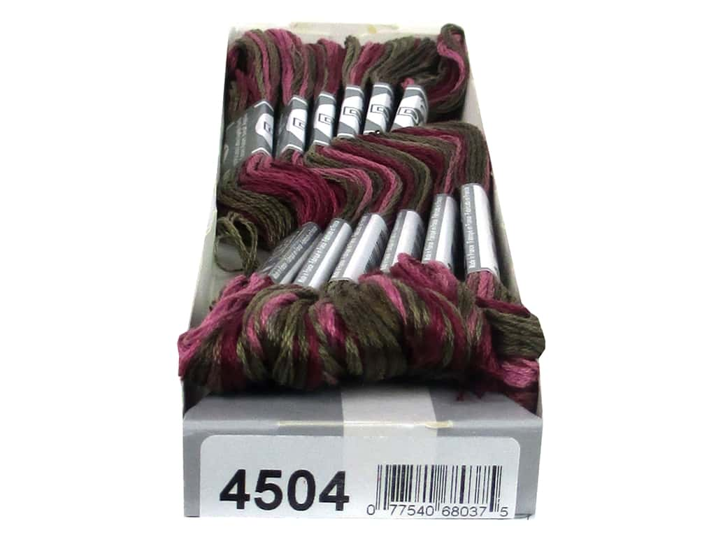 DMC Coloris Embroidery Floss Hydrangea (6 skeins)