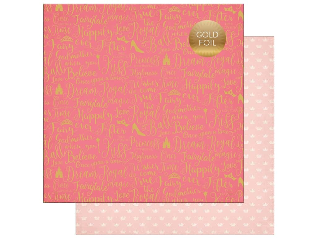 """Echo Park Collection Once Upon A Time Paper 12""""x 12"""" Dream Come True (25 pieces)"""
