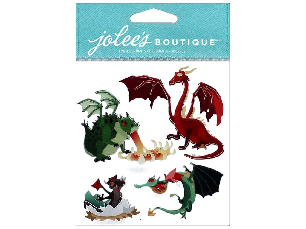 EK Jolee's Boutique Dragons