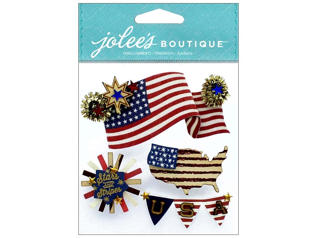 EK Jolee's Boutique American Flag