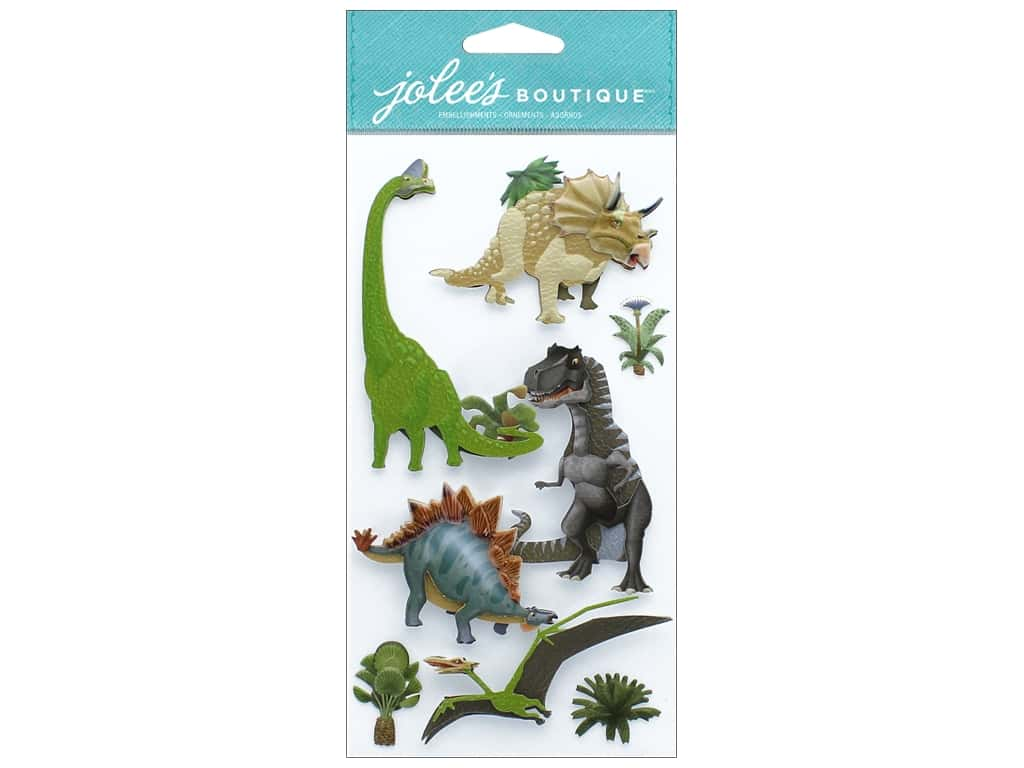 EK Jolee's Boutique Large Dinosaurs