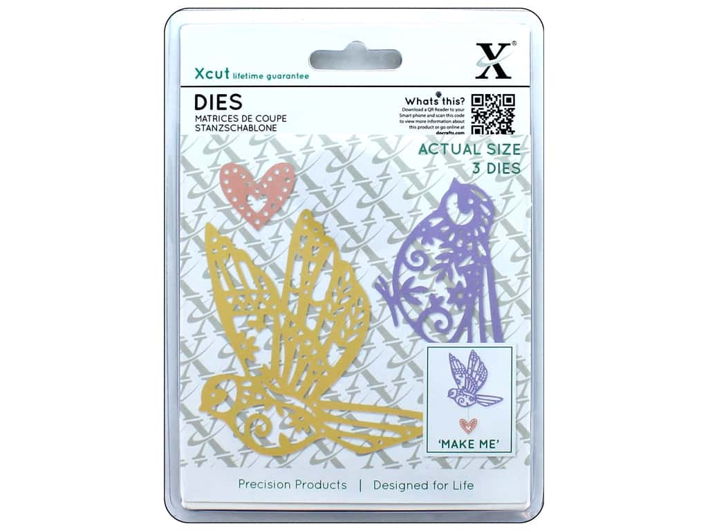 Docrafts Xcut Die Patterned Birds