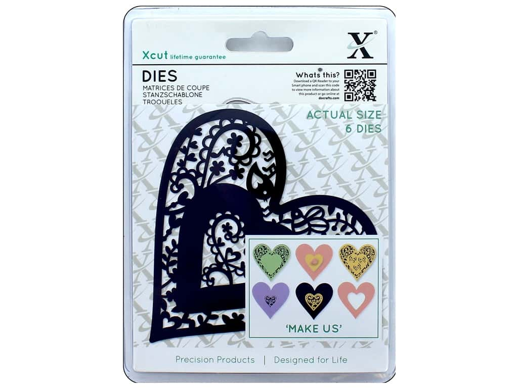 Docrafts Xcut Die Folk Bird Heart