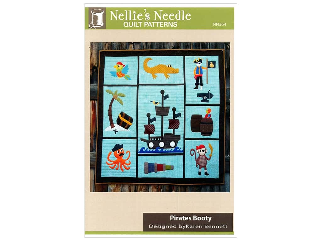 Nellie's Needle Pirates Booty Pattern