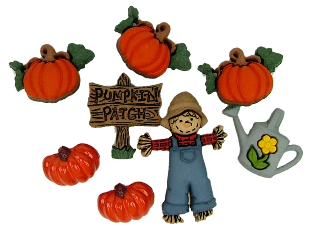 Jesse James Embellishments Pumpkin Patch