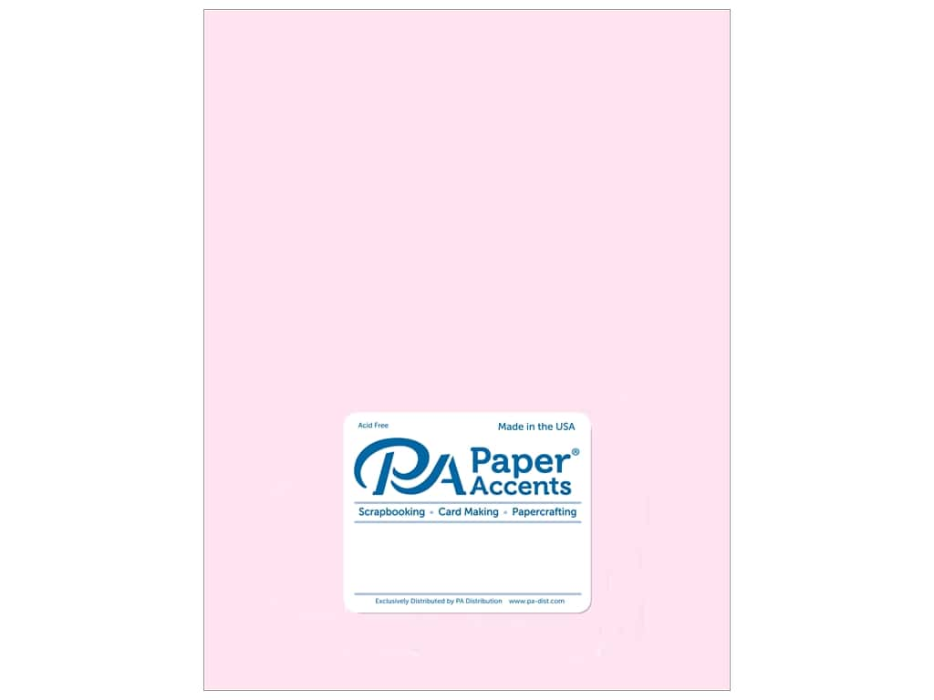 Paper Accents Vellum 8 1/2 x 11 in. #936 Light Pink (25 sheets)