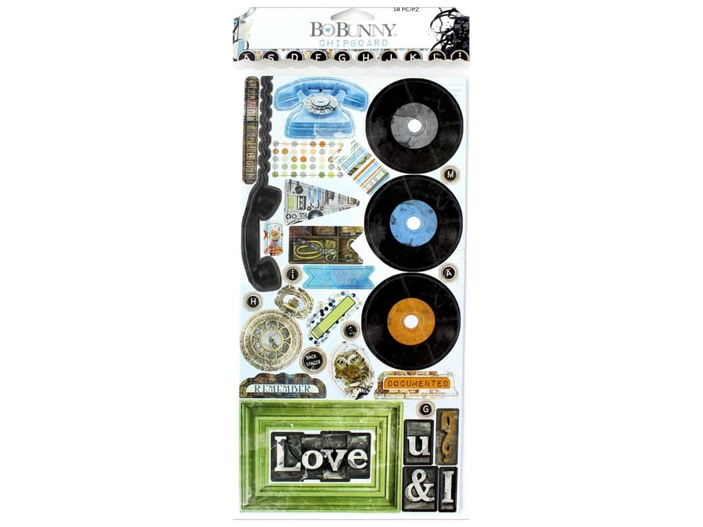 Bo Bunny Collection Life In Color Chipboard