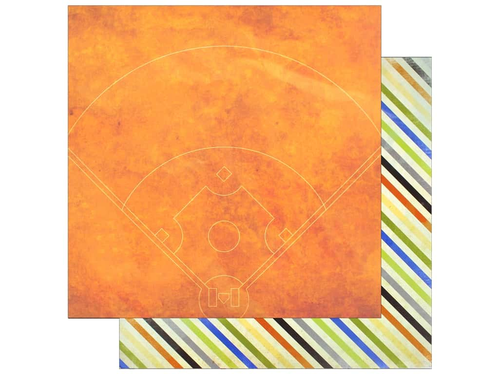 """Bo Bunny Collection Game On Paper 12""""x 12"""" Diamond (25 pieces)"""