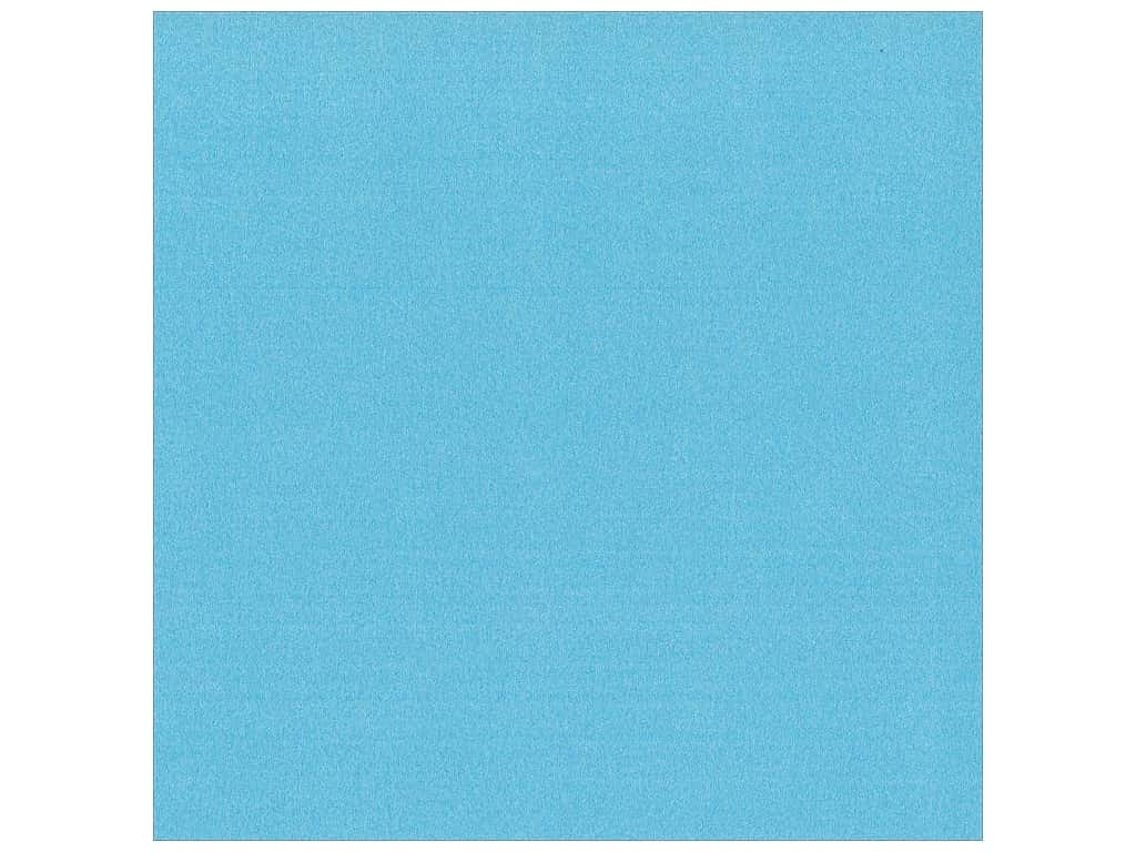 Best Creation 12 x 12 in. Cardstock Glitter Hot Blue (15 pieces)
