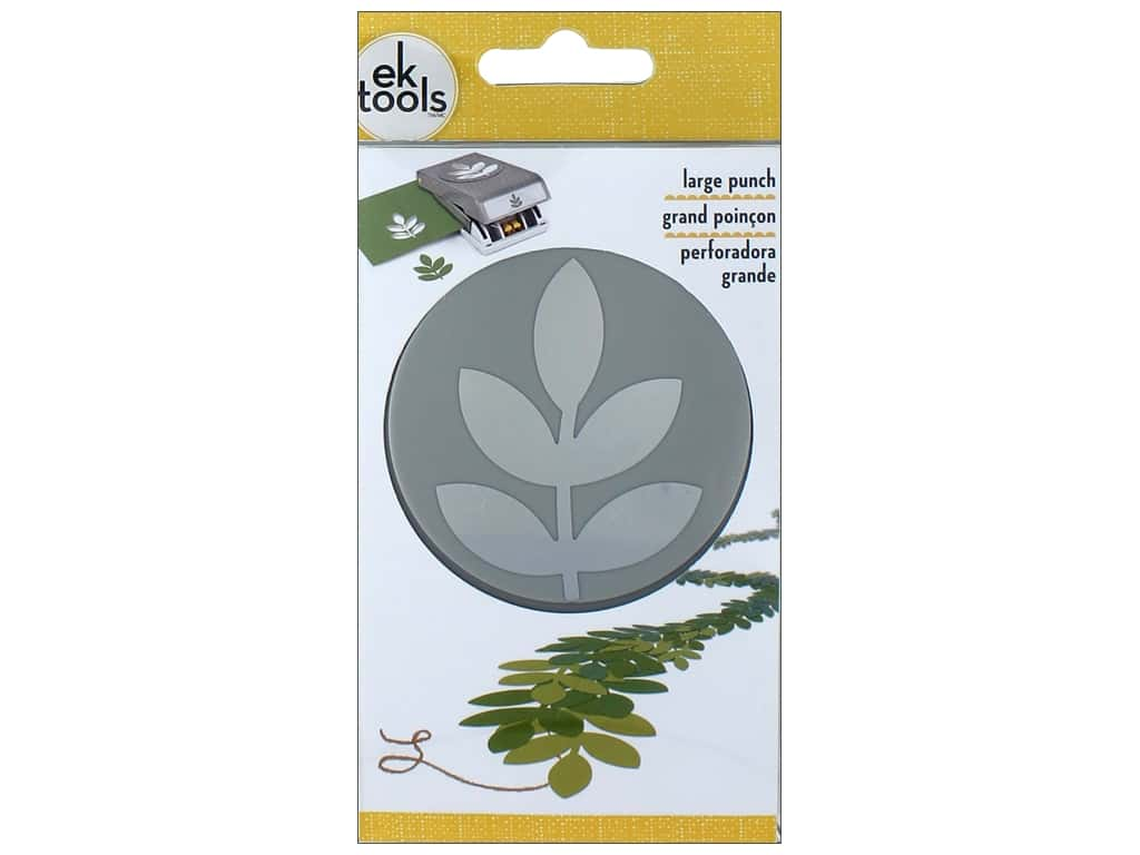 EK Tools Large Punch - 5 Leaf Branch