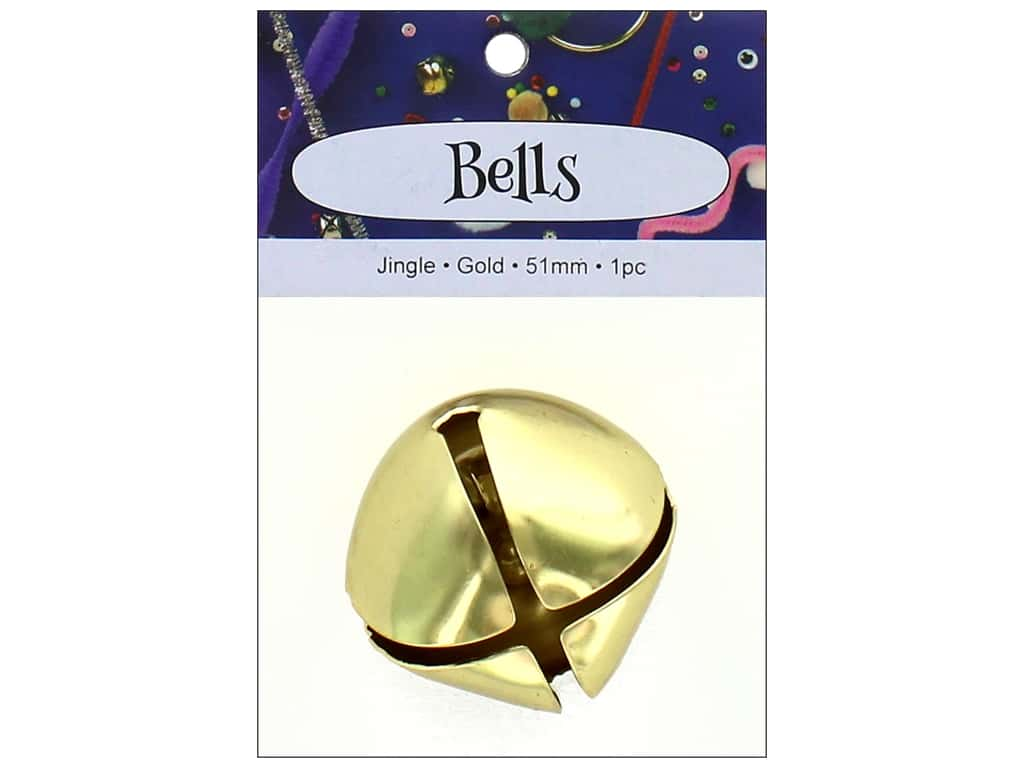 PA Essentials Jingle Bells 2 in. 1 pc. Gold