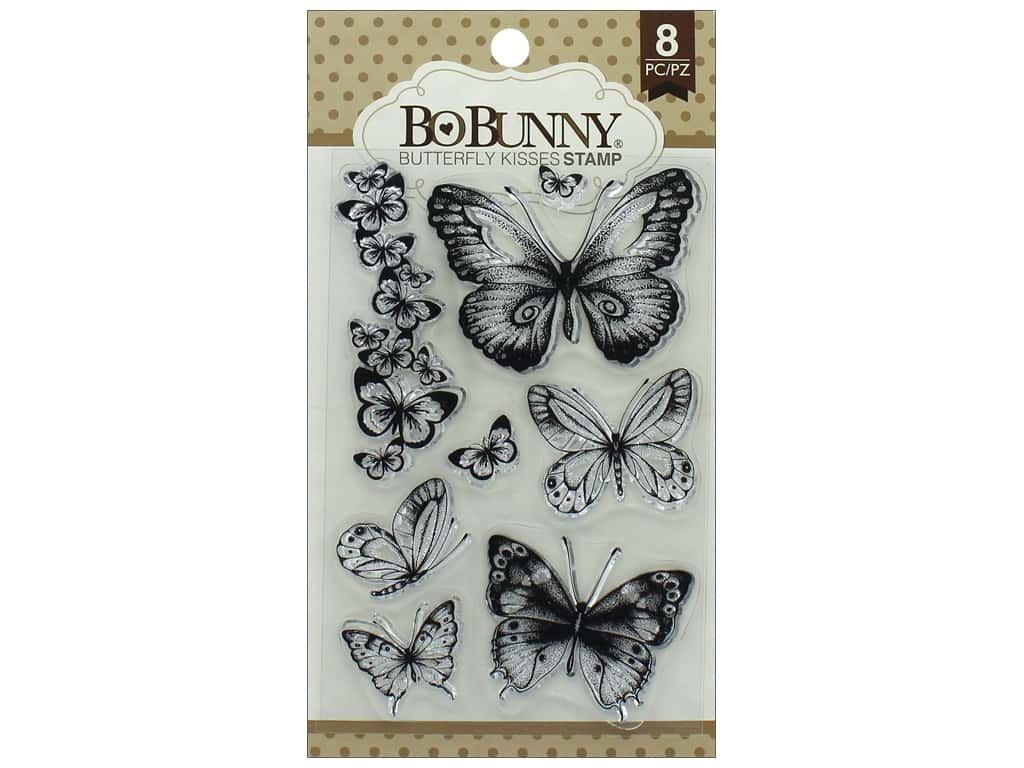 Bo Bunny Stamp Essentials Butterfly Kisses