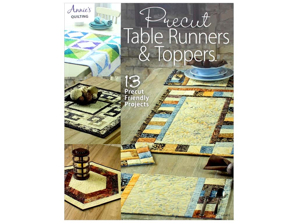 Precut Table Runners & Toppers Book