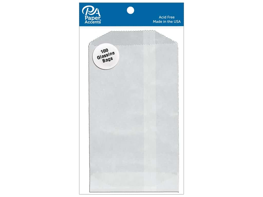 Paper Accents Bags 3 3/4 x 6 1/4 in. Glassine 100 pc.