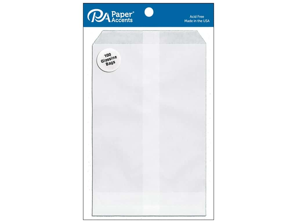 Paper Accents Bags 4 1/2 x 6 3/4 in. Glassine 100 pc.