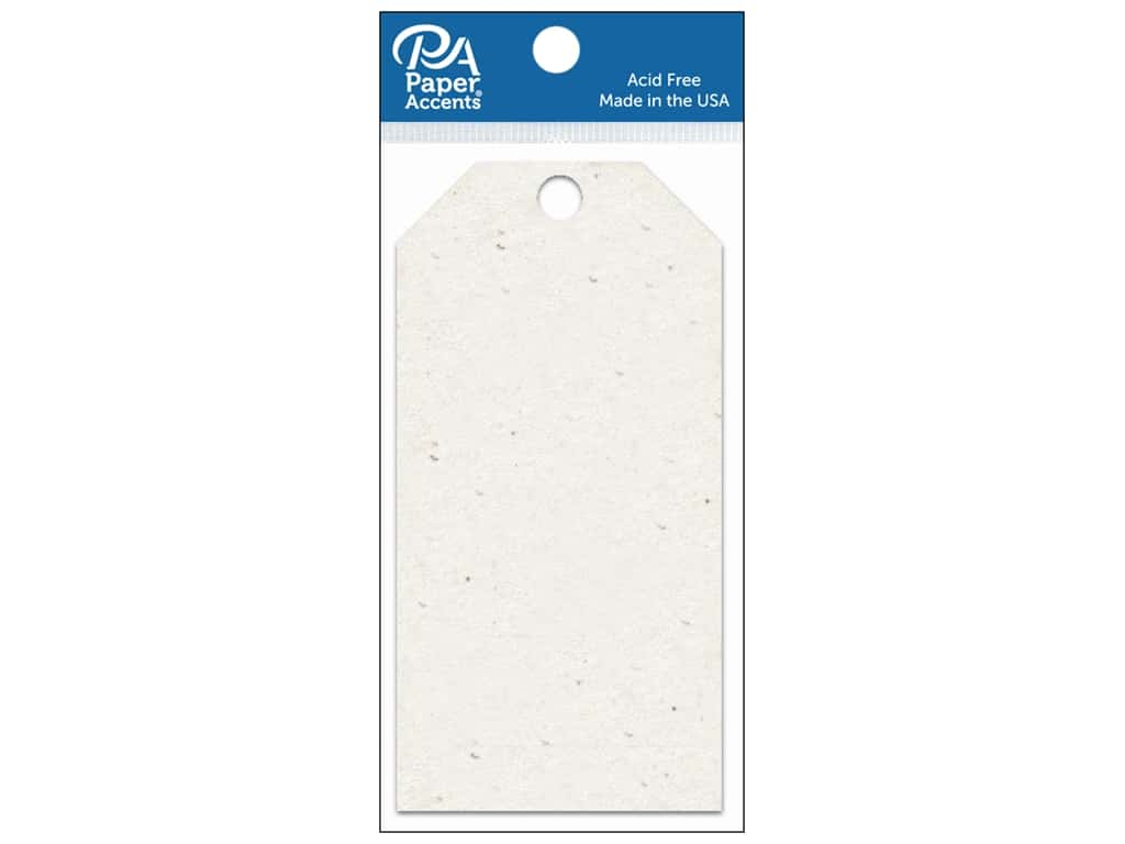 Paper Accents Craft Tags 2 1/2 x 5 1/4 in. 25 pc. Birch