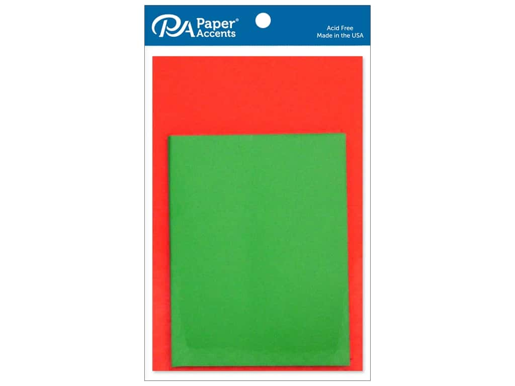 Paper Accents 4 1/4 x 5 1/2 in. Blank Card & Envelopes 10 pc. #1004 Christmas
