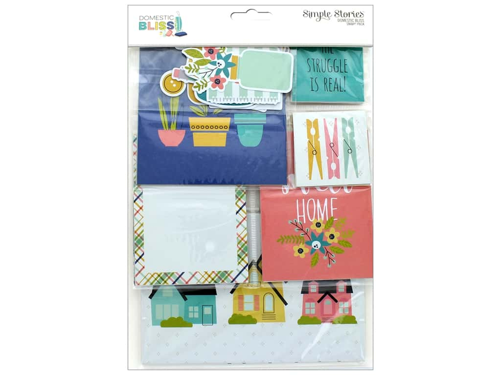 Simple Stories Collection Domestic Bliss Snap Pack