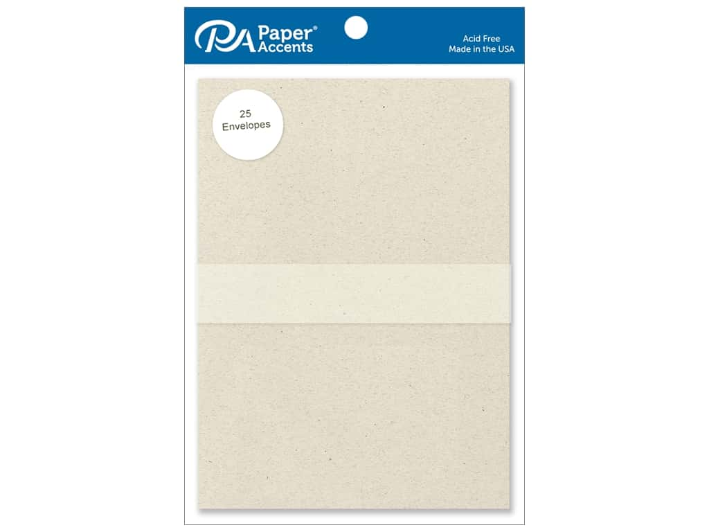 Paper Accents 5 x 7 in. Envelopes 25 pc. #363 Beach Sand