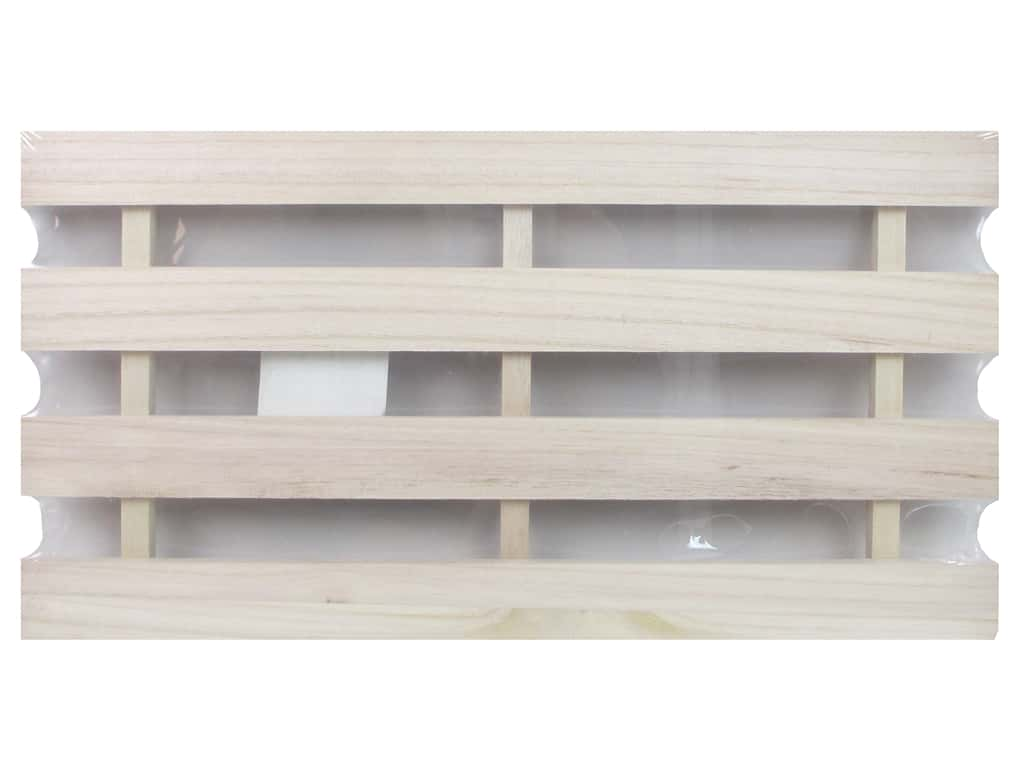 Sierra Pacific Crafts Wood Plaque Pallet Style Natural