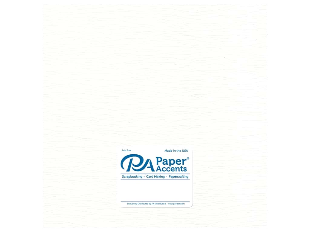 Paper Accent Onion Skin Paper 12 x 12 in. White 5 pc.