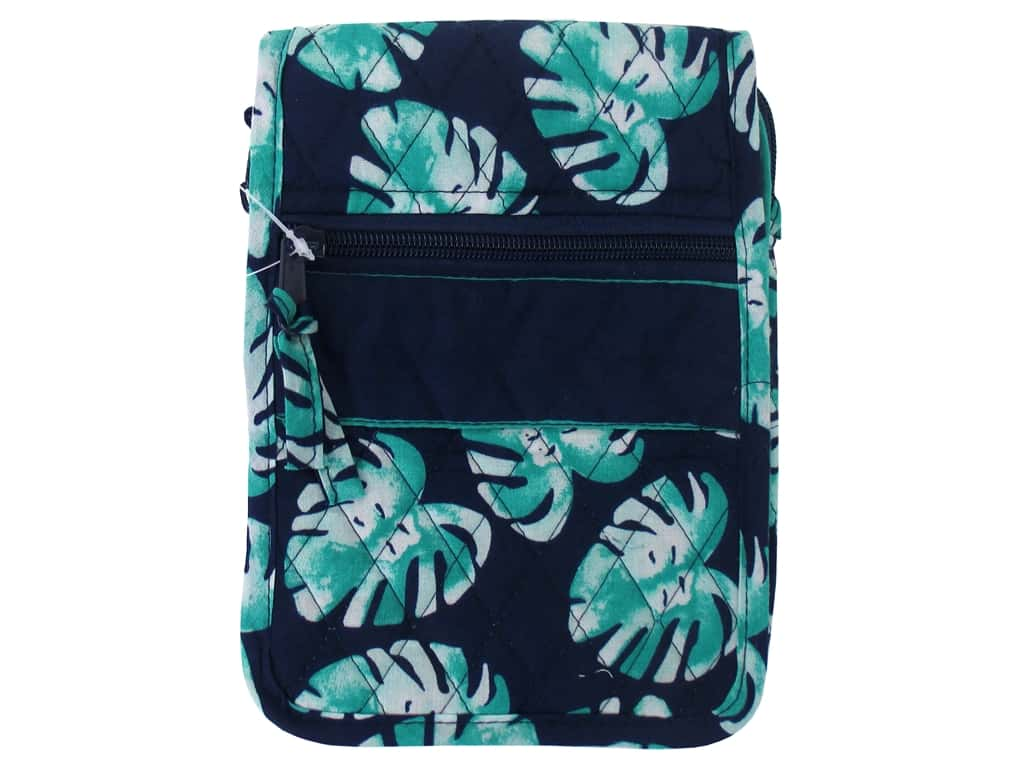 Darice Quilted Small Crossbody Hipster Bag - Palm Blue