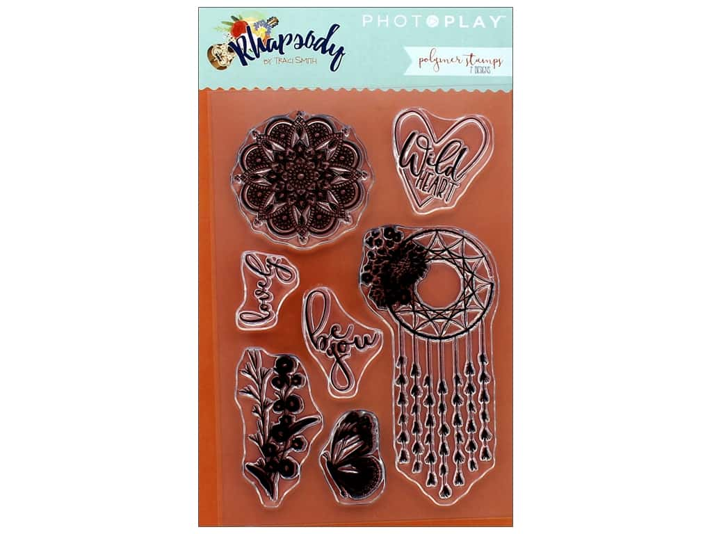 Photo Play Collection Rhapsody Polymer Stamp