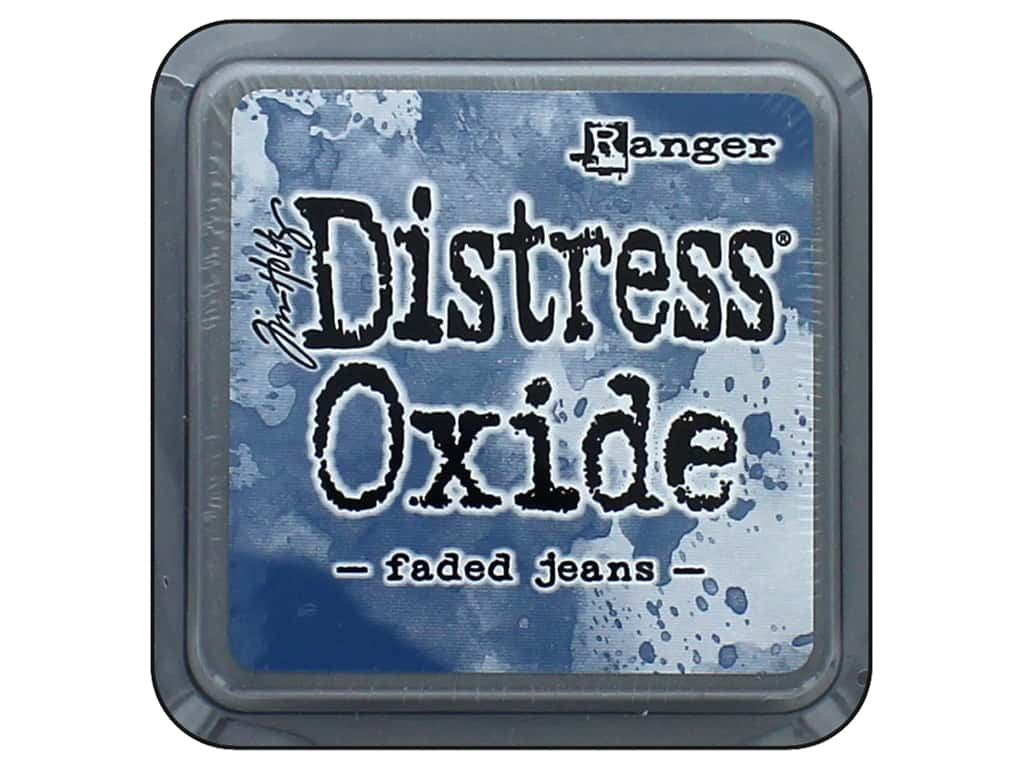 Ranger Tim Holtz Distress Oxide Ink Pad Faded Jeans
