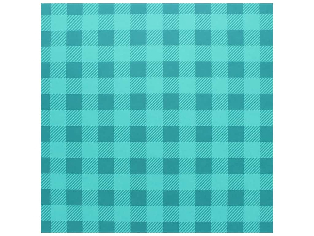 Bazzill Cardstock 12 x 12 in. Plaid Candy Necklace (25 pieces)