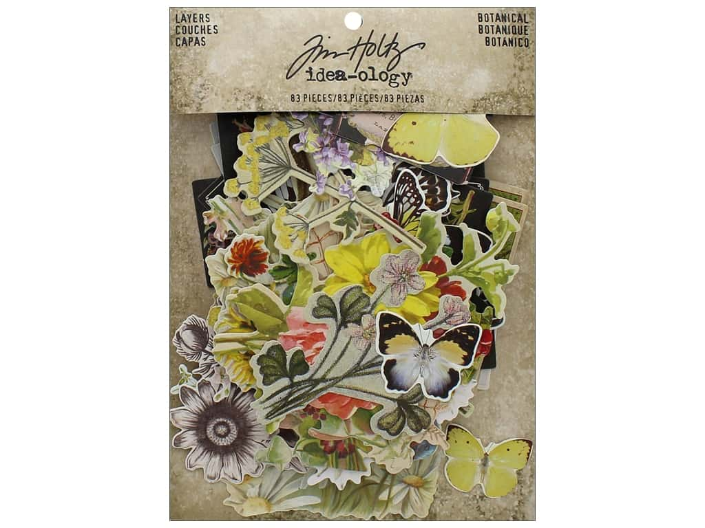 Tim Holtz Idea-ology Layers Botanical