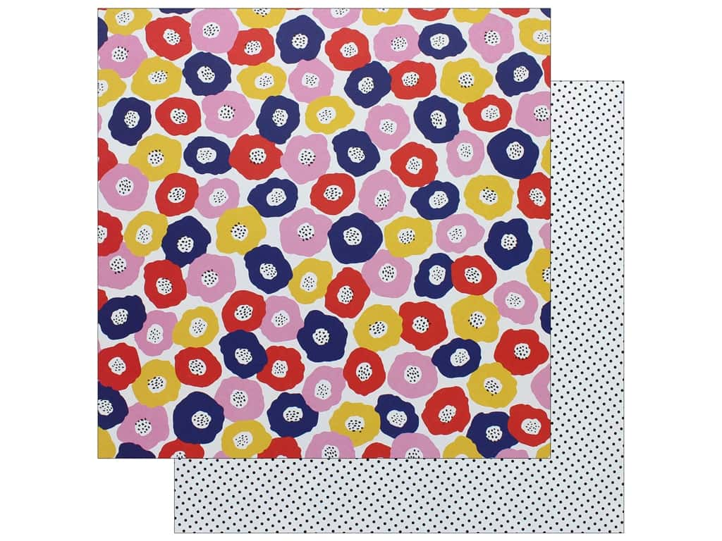 """AMC Collection On A Whim Amy Tangerine Paper 12""""x 12"""" Heaps Of Love (25 pieces)"""