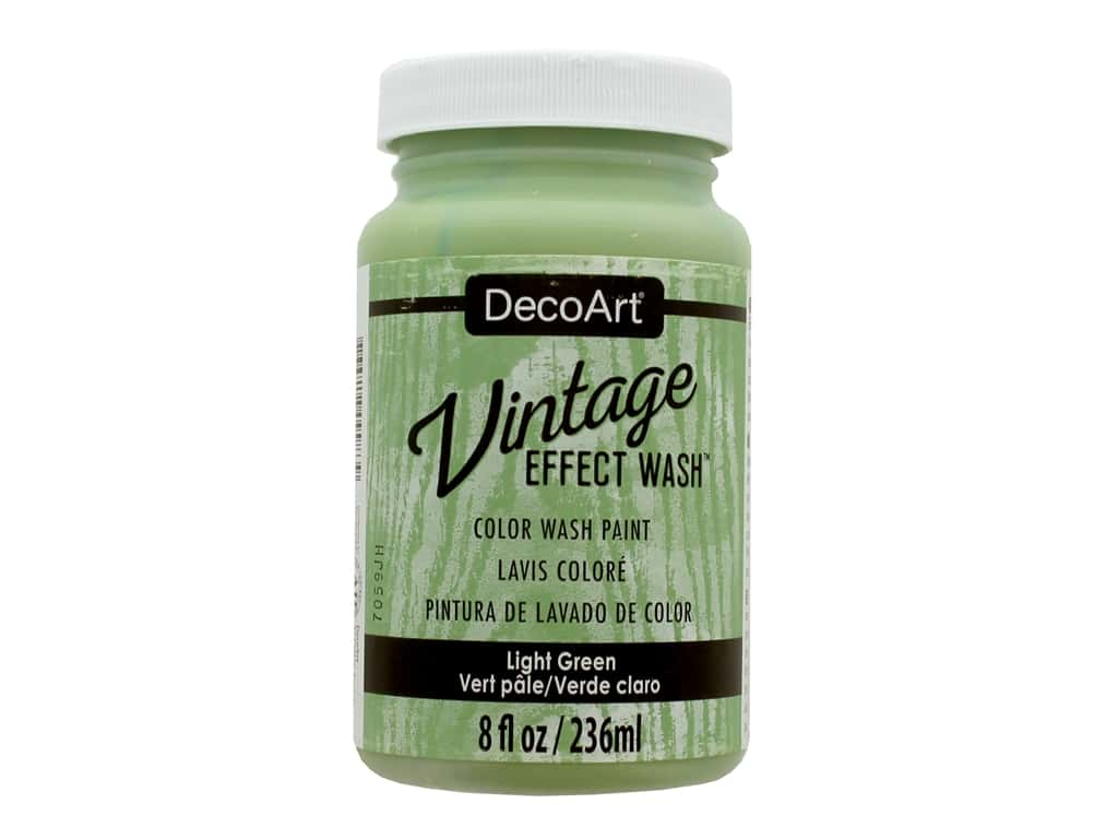 Decoart Vintage Effect Wash 8 oz. Light Green
