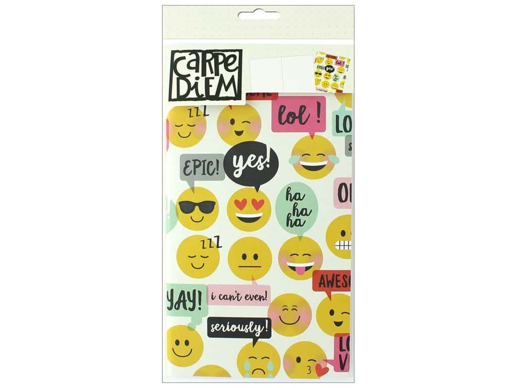 Simple Stories Collection Emoji Love Carpe Diem Doc-It Journal