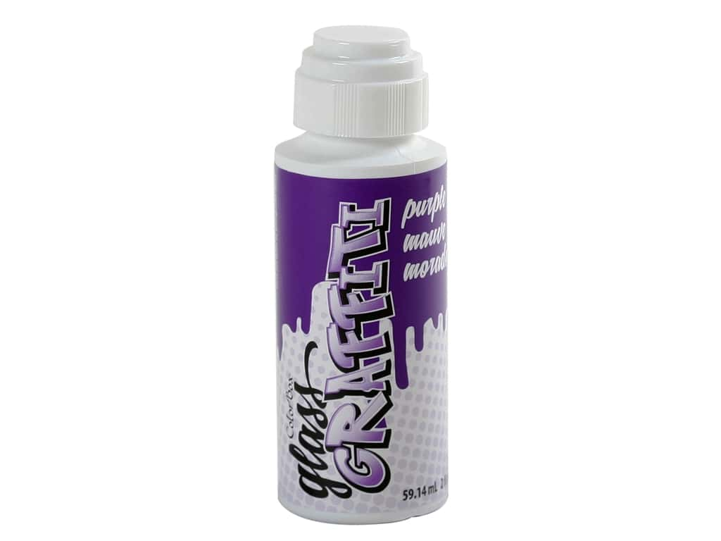 ColorBox Glass Graffiti Ink Purple