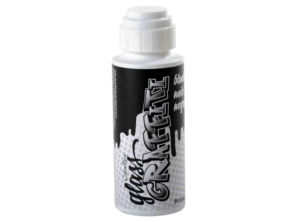 ColorBox Glass Graffiti Ink Black