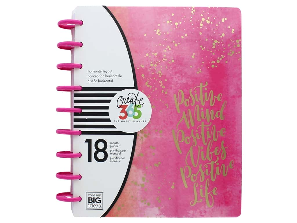 Me & My Big Ideas Create 365 The Happy Planner - Classic Live Loud