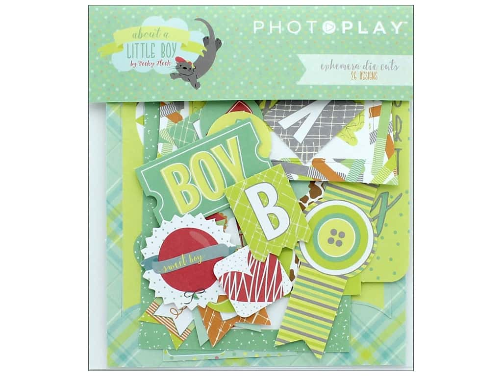 Photo Play Collection About A Little Boy Ephemera Die Cuts