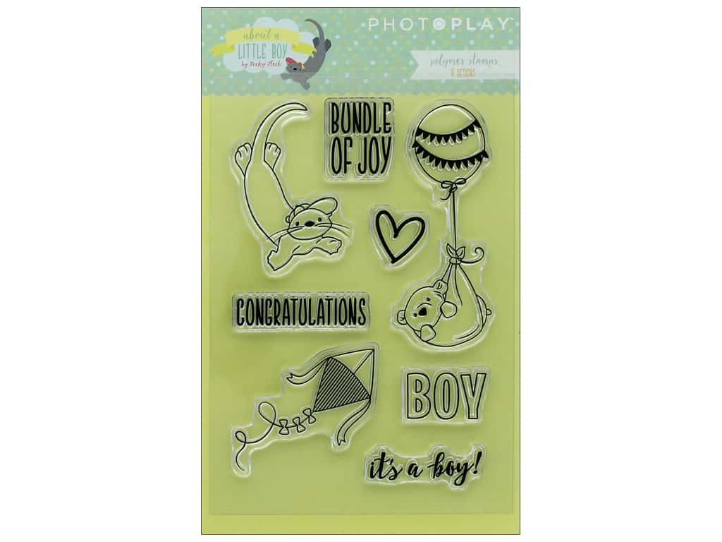 Photo Play Collection About A Little Boy Polymer Stamp
