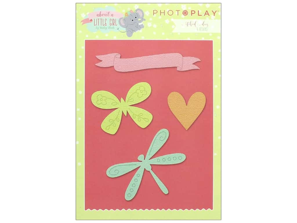 Photo Play Collection About A Little Girl Etched Dies
