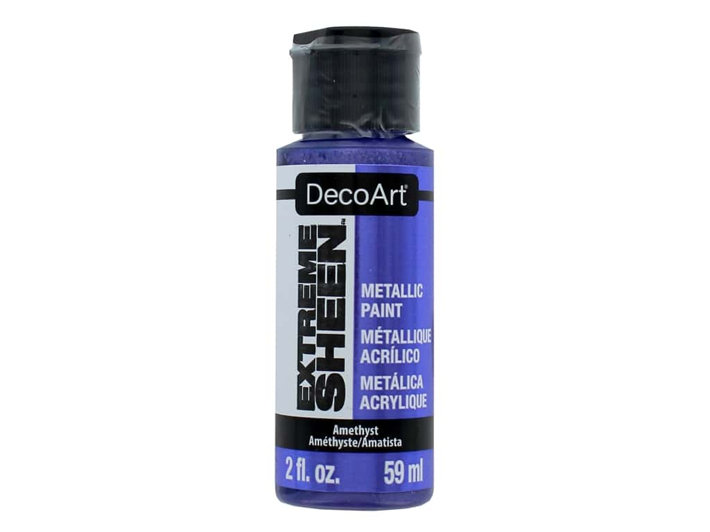 Decoart Extreme Sheen Metallic Paint 2 oz. Amethyst