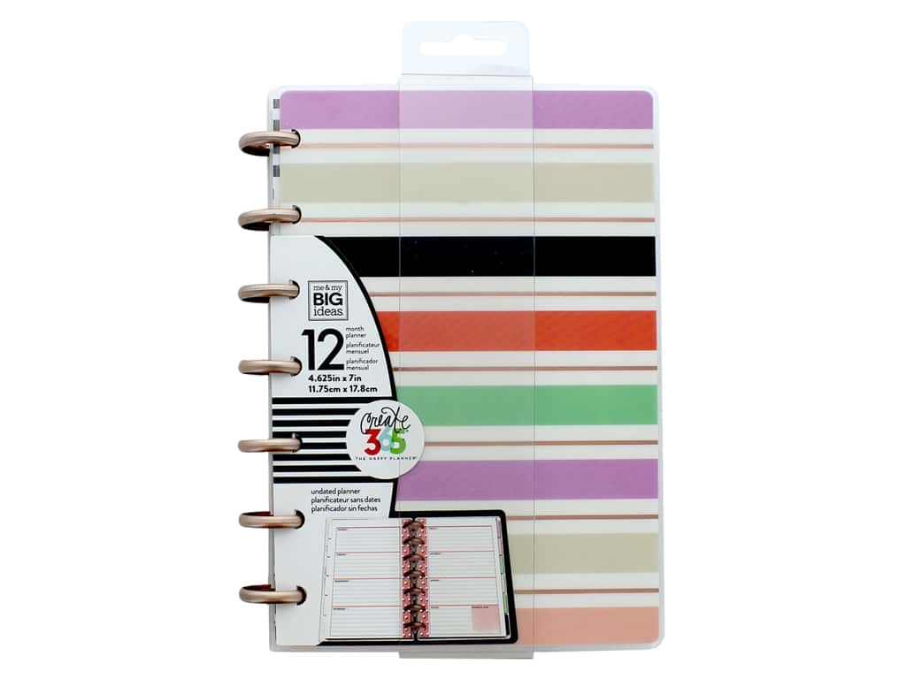 Me & My Big Ideas Create 365 The Happy Planner - Mini Lovely Pastels