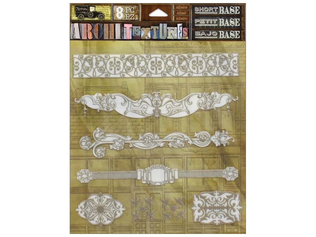 7 Gypsies Collection Architextures Short Base Borders