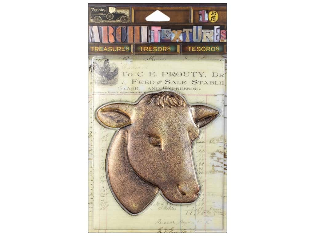 7 Gypsies Collection Architextures Treasures Cow Head