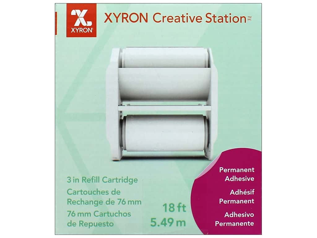 "Xyron Creative Station Lite Refill 3"" Permanent Adhesive 18'"