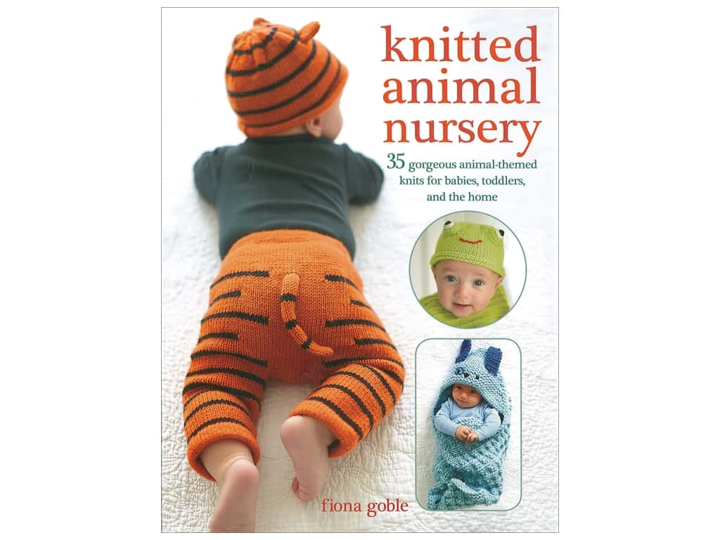 Knitted Animal Nursery Book by Fiona Goble
